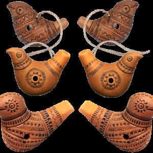 Комплект свистулек №3 (6 свистулек)
